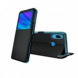 Etui pour Huawei Y6 2019 / Honor 8a folio stand noir