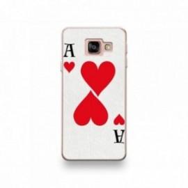 Coque pour Samsung Galaxy Note 10 motif As de Coeur