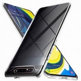 Coque pour Samsung A80 crystal contour gel