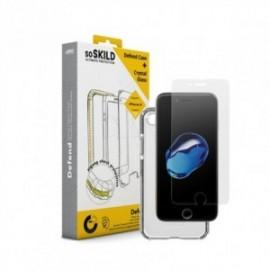 Pack SoSkild Coque Defend et Verre Hybrid Transparent pour Samsung S9 Plus
