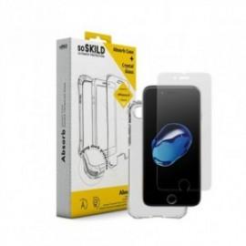 Pack SoSkild Coque Absorb et Verre Trempé Transparent pour Samsung Note 10