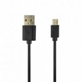 Câble data Lightning noir / 2 Mètres
