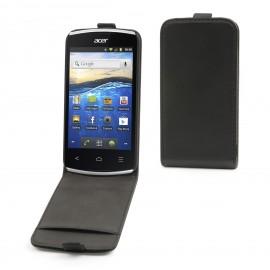 Etui Acer Liquid Z110 Cuir Noir simili