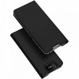 Etui pour Zenfone 6 ZS630KL folio support porte carte noir