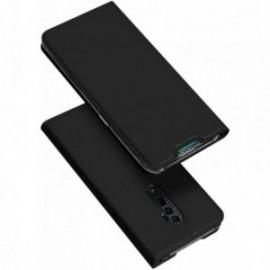 Etui pour Oppo Reno 5G / Reno 10x Zoom folio support porte carte noir