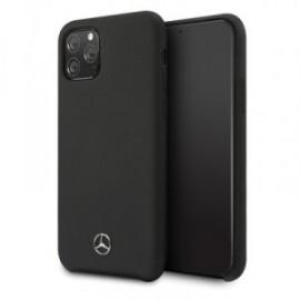 Coque Mercedes-Benz Liquid pour iPhone 11 Pro Max noir
