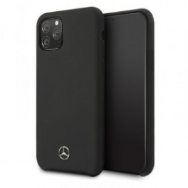Coque Mercedes-Benz Liquid pour iPhone 11 Pro noir