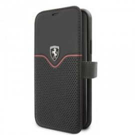 Etui Ferrari W folio stand pour iPhone 11 noir