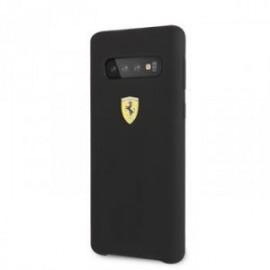 Coque Ferrari SF silicone pour Samsung S10 noir
