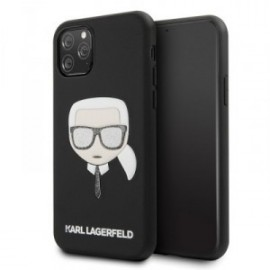 Coque pour Iphone 11 Karl Lagerfeld Iconic Embossed & Paillettes