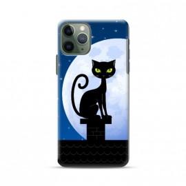 Coque pour Iphone 11 Pro motif Cat night