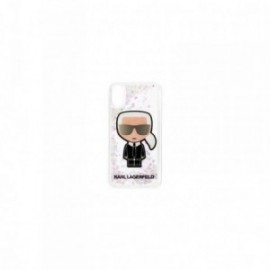 Coque pour Iphone 11 Pro Max Karl lagerfeld Paillette Iridescente