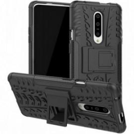 Coque pour Nokia 7.1 Anti chocs stand béquille noire