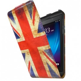 Etui Blackberry z10 UK Vintage