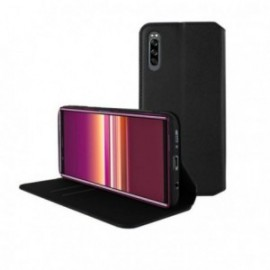 Etui pour Sony Xperia 5 Folio stand porte carte noir