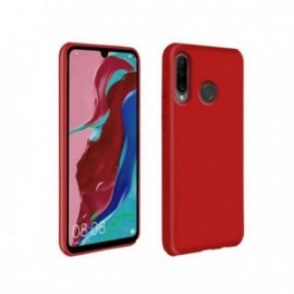 Coque pour Huawei P30 Lite softy touch rouge