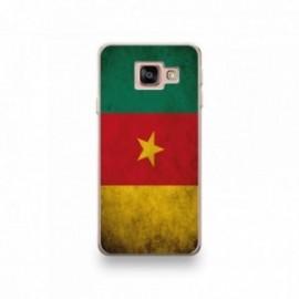 Coque pour Wiko View 3 motif Drapeau Cameroun Vintage