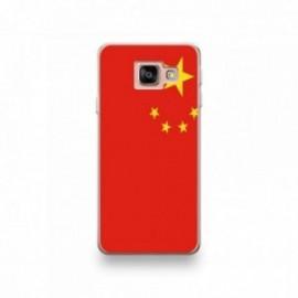 Coque pour Wiko View 3 motif Drapeau Chine