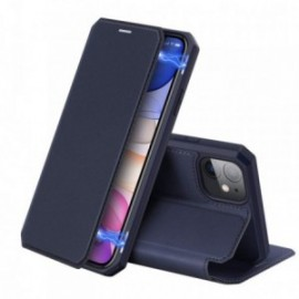 Etui pour Iphone 11 Pro Max 6,5' folio stand noir