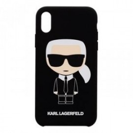 Coque pour Iphone 7/8 Karl Lagerfeld Full Body noir