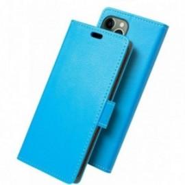 Etui folio pour iphone 11 pro bleu