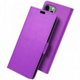 Etui folio pour iphone 11 pro violet