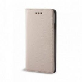 Etui pour Sony Xperia 5 Folio stand porte carte or