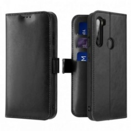 Etui pour Xiaomi Redmi note 8T Portefeuille noir