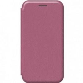 Etui pour Xiaomi MI NOTE 10 folio stand magnétique prune