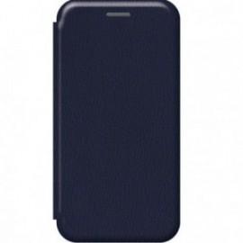 Etui pour Xiaomi MI NOTE 10 folio stand magnétique bleu nuit