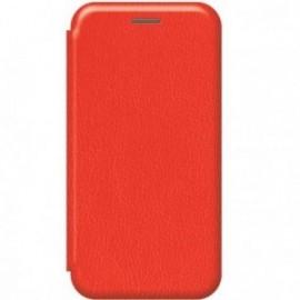 Etui pour Xiaomi MI NOTE 10 folio stand magnétique rouge