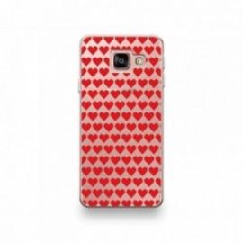 Coque pour Xiaomi MI Note 10 motif Coeurs Rouge