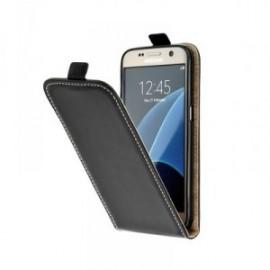 Etui pour Nokia 8.1 Plus clapet fermeture vertical noir