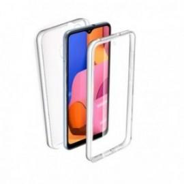 Coque pour Samsung S20 Plus intégrale silicone transparente