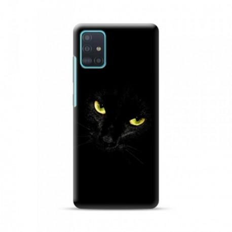 Coque pour Samsung A51 personnalisée motif Black cat