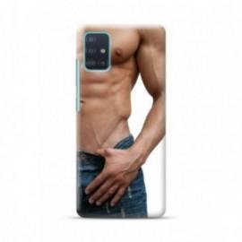 Coque pour Samsung A51 personnalisée motif Homme