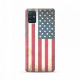 Coque pour Samsung A51 personnalisée motif Usa