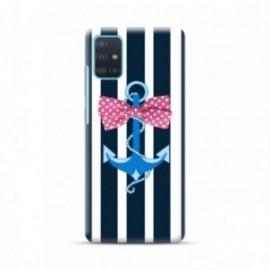 Coque pour Samsung A51 personnalisée motif Noeud marin