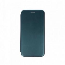 Etui pour iPhone 11 folio stand magnétique vert