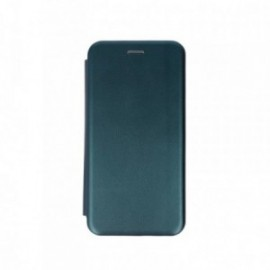 Etui pour iPhone 11 Pro Max folio stand magnétique vert