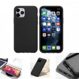 Coque pour Samsung S20 Plus soft touch noire