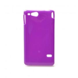 Coque Sony xperia go glossy violette