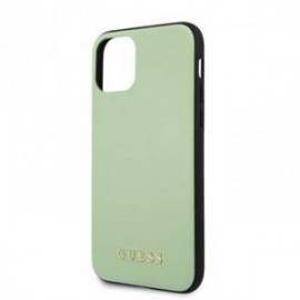 Coque pour Apple iPhone 11 Pro Guess cuir vert