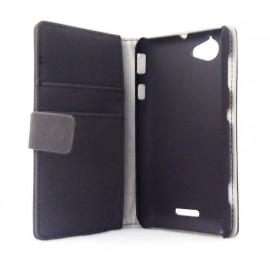 Etui Book Flip Case Sony Xperia L