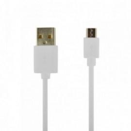 Câble Data pour Samsung S20 blanc