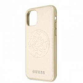 Coque pour Iphone 11 Pro Max Guess Saffiano or