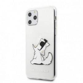 Coque pour Samsung S20 Plus Karl Lagerfeld Choupette transparente