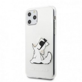 Coque pour Samsung S20 Ultra Karl Lagerfeld Choupette transparente