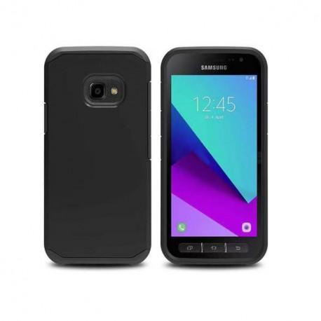 Coque Samsung Galaxy Xcover 4 /  Galaxy Xcover 4S Bords Antichocs Noire