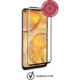Protège-écran en verre organique Force Glass pour Huawei P40 Lite avec kit de pose exclusif